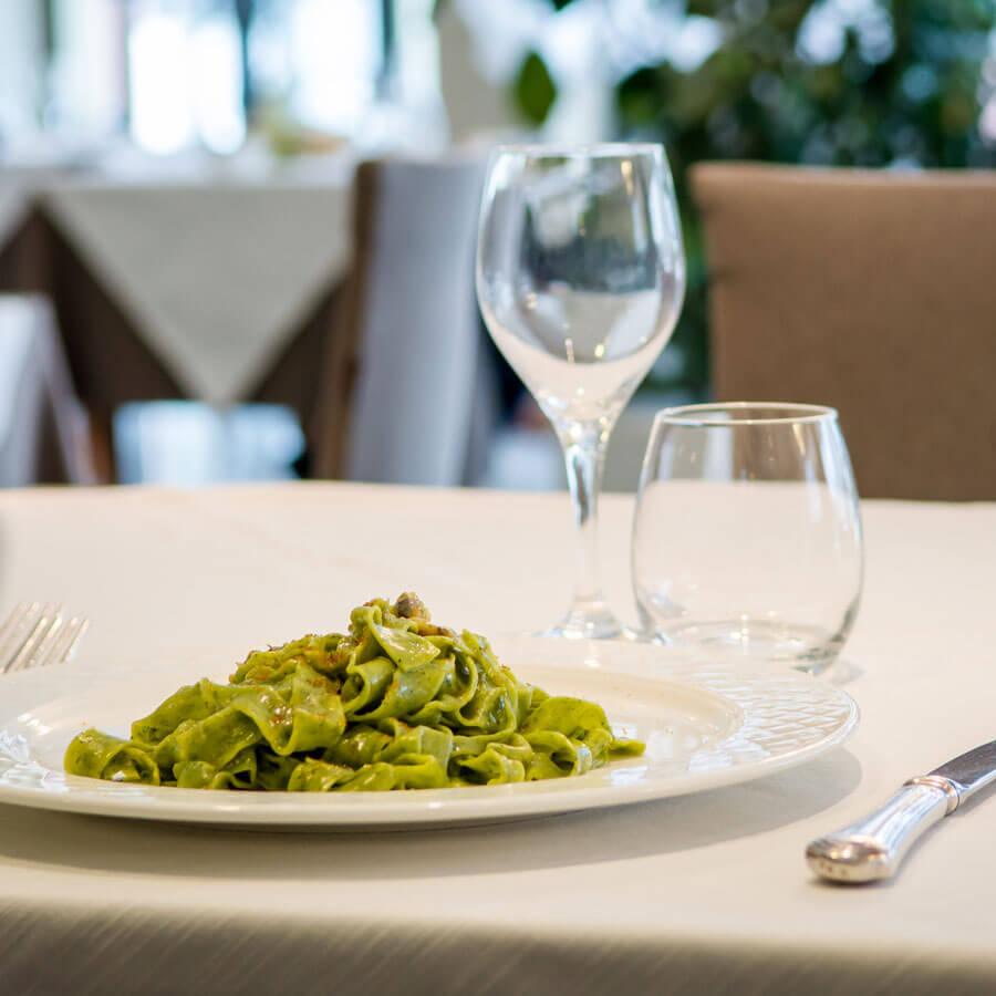 Tagliatella Verde Ristorante Sesamo Hotel Concorde Ancona 05